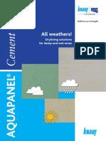 Aquapanel All Weathers Uk