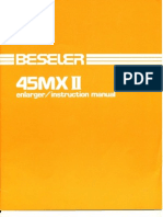 Beseler 45MXII Enlarger