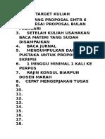TARGET KULIAH.docx