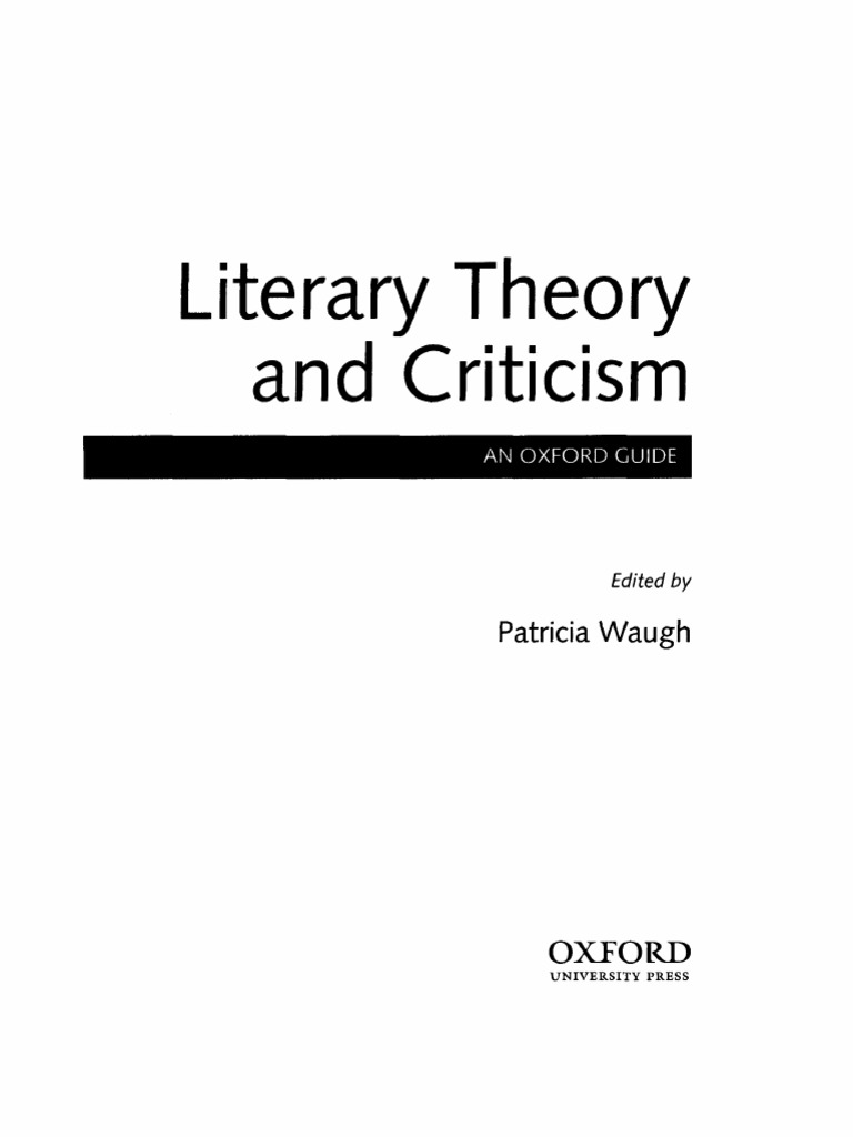 Literary Theory and Criticism An Oxford Guide.pdf