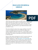 Oil Mills and Tourism in Greece