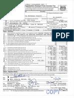 2015 ALEC IRS Form 990