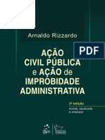 Arnaldo Rizzardo - Ação Civil Pública e Ação de Improbidade - 2014.epub