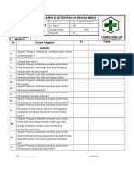 Daftar Tilik (Cek List) Kelengkapan REKAM MEDIS