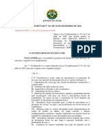 Lei Complementar n 323, de 26-12-2016 altera LC n 55-97