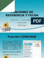 Funciones de Referencia y Fecha