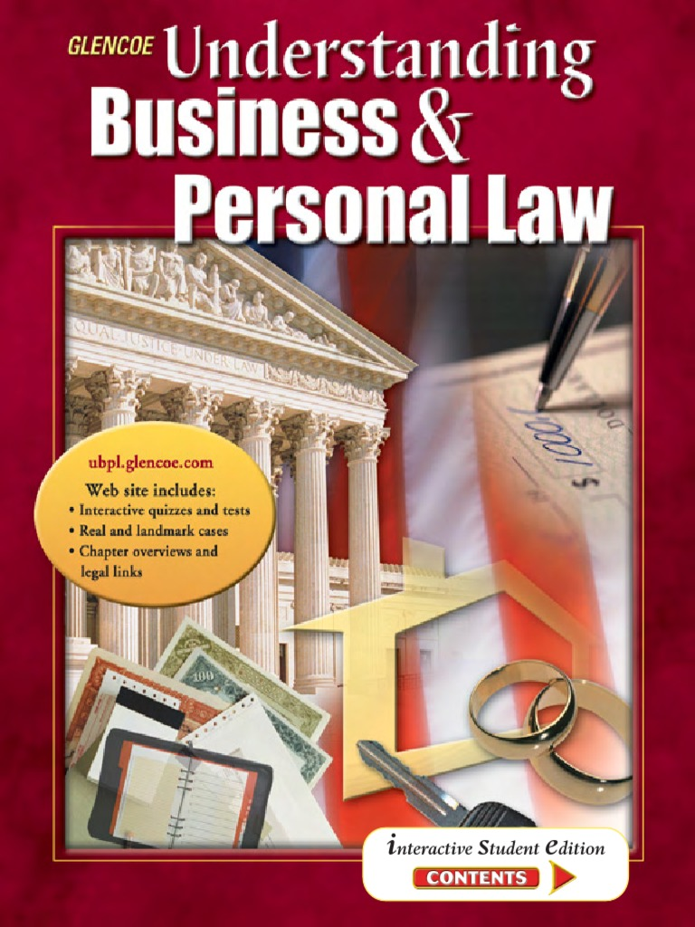 Understanding business and personal law2305 fandeluxe Choice Image