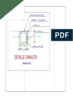Detalle de Canaleta PDF
