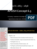 APUSH - Concept - 6.3.I - Harding
