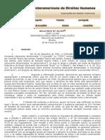 Brasil Caso 12.440 Wallace de Almeida - Admissibilidade e Mérito