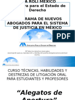 TEMA 3. Alegatos de Apertura. ABA ROLI, Cancun.pptx