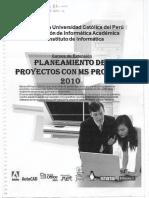 Planeamiento de Proyectos MS PROJEC1
