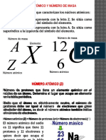 6. Número Atómico, Numero de Masa, Números Cuánticos - Sin Resolver