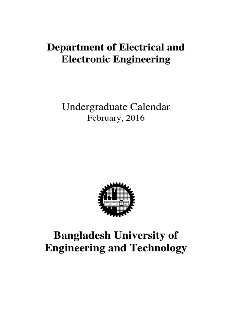 Calendar 2015 16 Academic Degree Engineering Realtime Clock Ic Electronics And Electrical