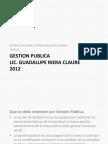 Tema 2 Gestion Publica