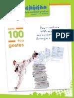 100 Eco Gestes