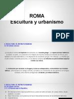 TEMA 2 Parte 4 MUNDO CLASICO-ROMA Escultura y Urbanismo