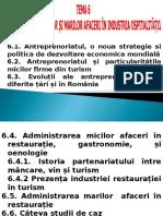 Tema 6 Afacerile in Ospitalitate
