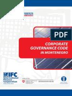 Corporate Governance Code in Montenegro