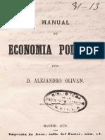 Manual de Econom i a Politica