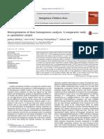 catalyst Heterogenization