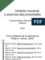 Conocimiento Musical y Acervos Doc