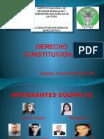 001 Derecho Constitucional . Equipo 3 Maggy