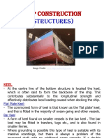 Ship construction structure notes