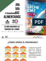 b. Programa Alimentario