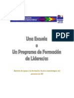 unaescuelaoprogramadeformaciondelideres-121016005924-phpapp01