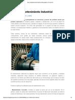 Tipos de Mantenimiento Industrial _ Blog Logistica y Producción