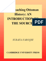 Suraiya Faroqhi-Approaching Ottoman History_ an Introduction to the Sources (2000)