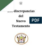 150 Discrepancias Del Nuevo Testamento