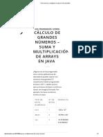 Cómo Sumar y Multiplicar Arrays en Java _ Katodia