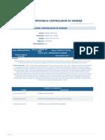 Perfil Competencia Controlador de Sondaje