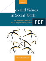 Allan E. Barsky Ethics and Values in Social Work an Integrated Approach for a Comprehensive Curriculum