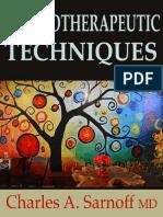 Psychotherapeutic Techniques