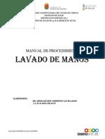 Manual de Procedimiento de Lavado de Manos Bs 2015