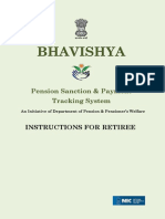 Instruction for Retire