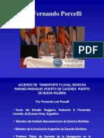 02 Acuerdo de Transporte Fluvial Hidrovía Paraná Paraguay Por Fernando Porcelli Montevideo 2008