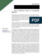 Nota de Prensa - Ef Rodaje