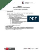 4 Guía Para Propuesta de Proyecto