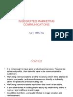 Ingegrated Marketing Communications i