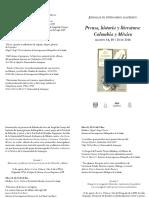 Programa Prensa, Historia y Literatura