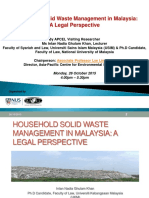 Household Solid Waste Management_Intan_26 Oct 2015