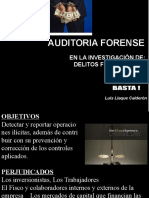 Aud.forense y La Criminologia Financiera Contable - AUDITA 2013 - Huánuco