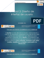 Unidad 3 - Diseño de Interfaz de Usuario