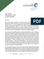 Winburn letter
