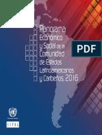 Panorama Económico y Social de La Comunidad de Estados Latinoamericanos y Caribeños