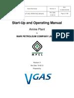 15-02-19 - V Gas - Start-Up Amine Operating Manual 14-0020!00!001